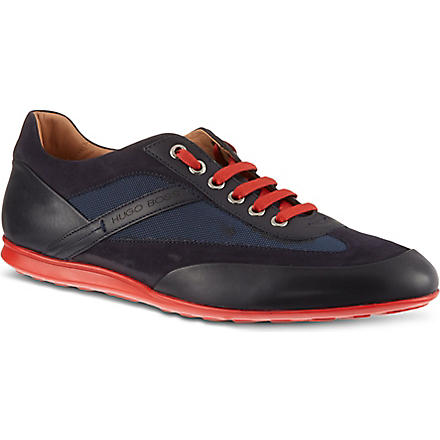 HUGO BOSS Attlio lo pro trainers (Navy
