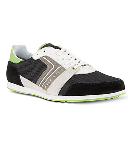HUGO BOSS Faster Road trainers (Blk/green