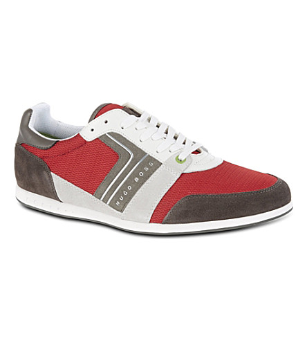 HUGO BOSS Faster Road mis trainers (Red/other