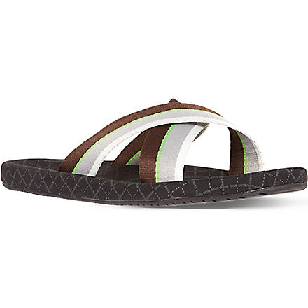 HUGO BOSS Shoreline crossover sandals (Black