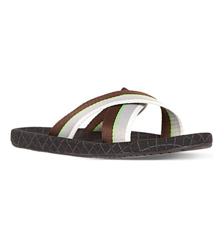 HUGO BOSS Shoreline crossover sandals (Black