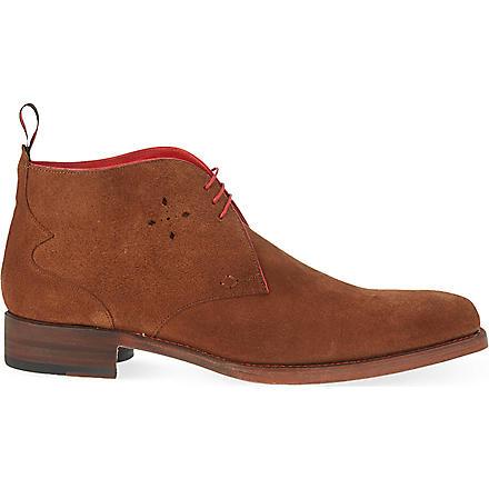 JEFFERY WEST Dexter chukka boots (Tan