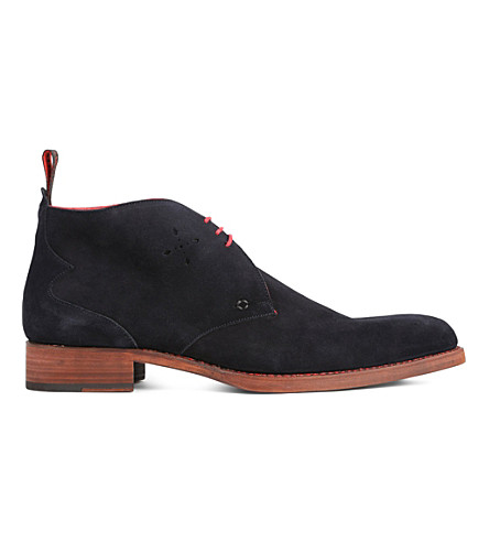 JEFFERY WEST Dexter chukka boots (Navy