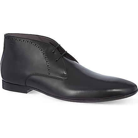 HUGO BOSS Bondeso chukka boots (Black