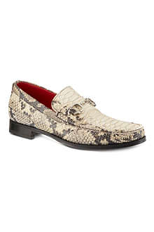 JEFFERY WEST Habit handcuff python loafers