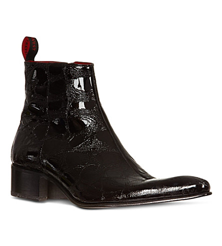 JEFFERY WEST Romano leather boots (Black