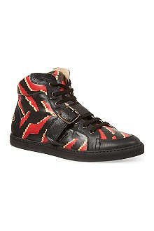 VIVIENNE WESTWOOD Tiger Print high-tops