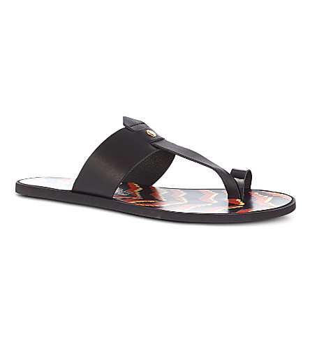 VIVIENNE WESTWOOD Toe loop sandals (Black