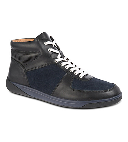 KG KURT GEIGER Parker high-top trainers (Navy