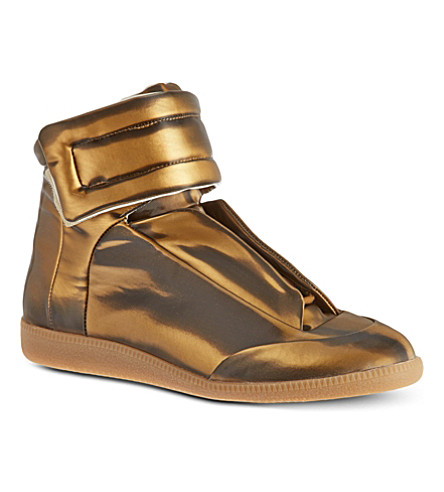MAISON MARTIN MARGIELA Future high-tops (Gold