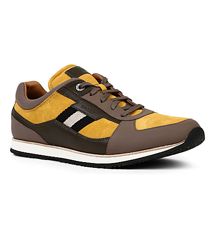 BALLY Okar trainers (Yellow