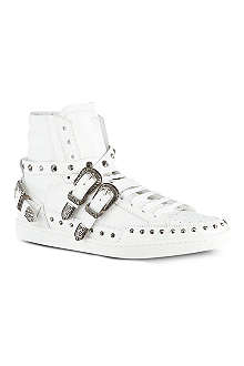 SAINT LAURENT Blake studded high tops