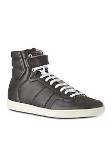 SAINT LAURENT High-top trainers