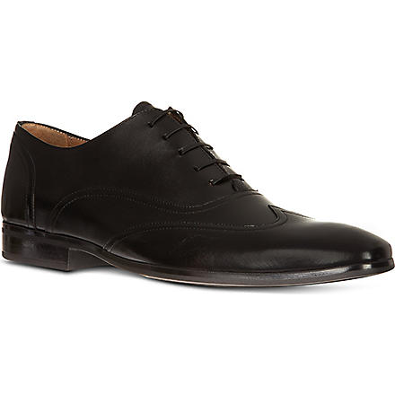 KURT GEIGER Graham leather Oxford shoes (Black