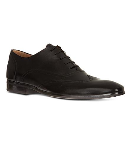 KURT GEIGER LONDON Graham leather Oxford shoes (Black