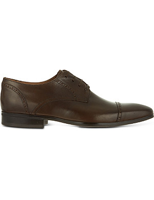 KURT GEIGER LONDON Grant leather wingcap shoes