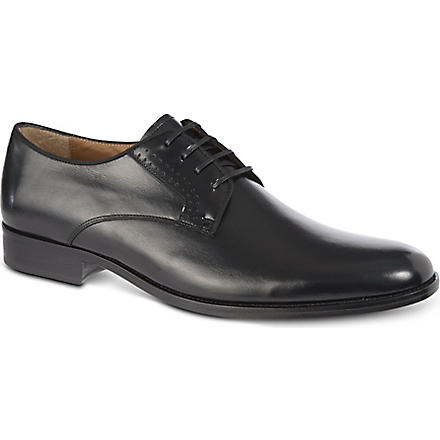 KURT GEIGER Lance leather brogues (Black