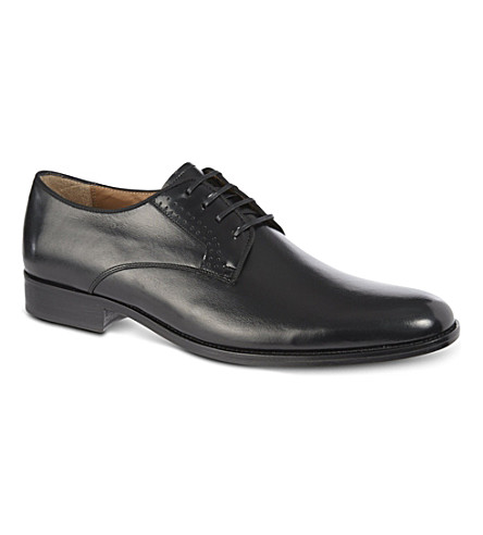 KURT GEIGER LONDON Lance leather brogues (Black