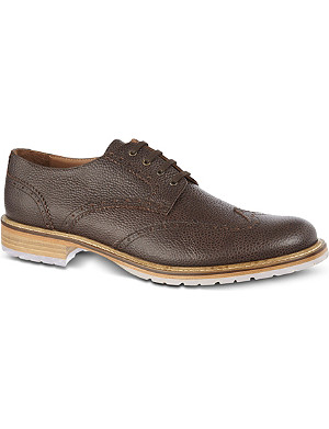 KURT GEIGER Brandt leather Oxford shoes