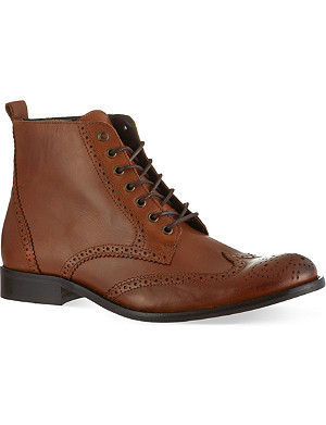 KG KURT GEIGER Dorset leather boots