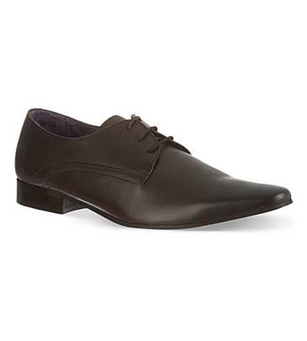 KG KURT GEIGER Aaron leather shoes (Brown
