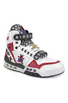 SPX Old School high-top trainers