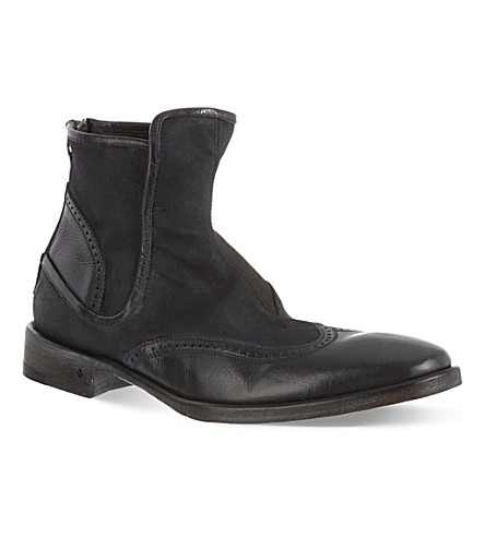 JOHN VARVATOS Fleetwood boots (Black