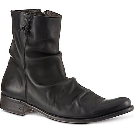 JOHN VARVATOS Hendrix Sharpei boots (Black