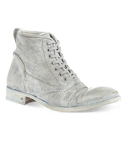 JOHN VARVATOS Fleetwood boots (White