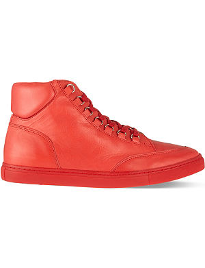KG KURT GEIGER Brickers leather high tops