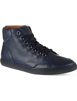 KG KURT GEIGER Brickers leather high tops