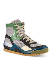 MAISON MARTIN MARGIELA Tech fabric high-tops