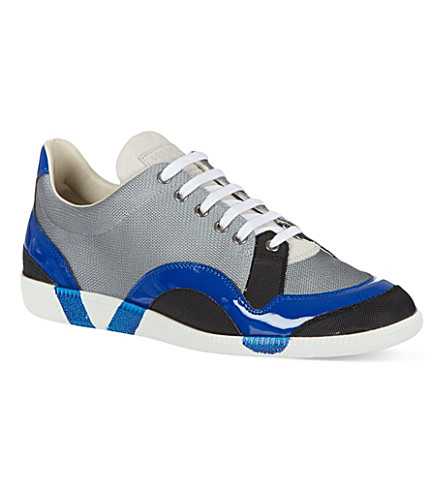 MAISON MARTIN MARGIELA Tech fabric trainers (Grey/other
