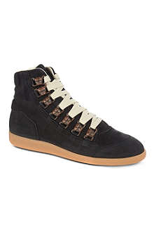 MAISON MARTIN MARGIELA Dog suede high tops