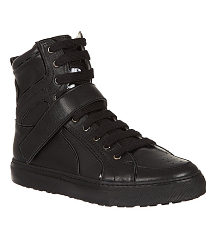 D SQUARED High top trainers (Black