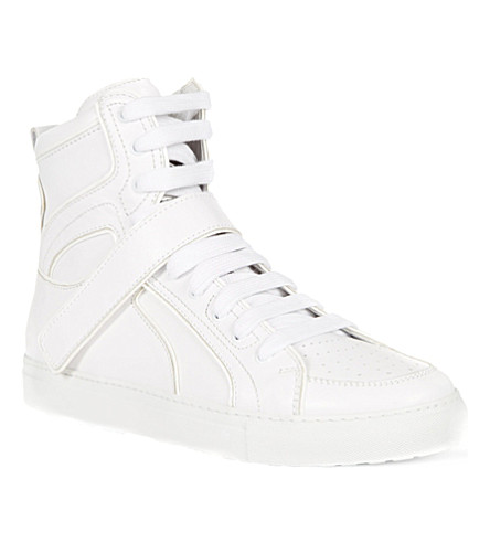D SQUARED High top trainers (White