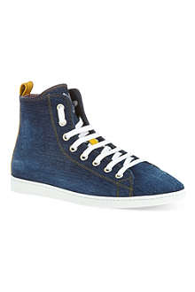 D SQUARED Basquete denim high tops