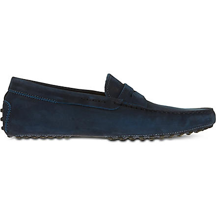 TODS Penny driving shoes (Navy