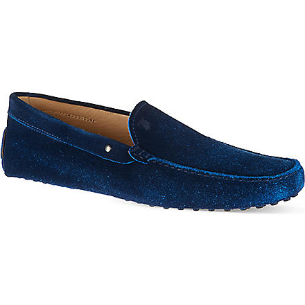 TODS Gommino Driving Moccasins (Blue