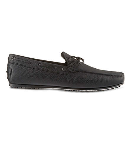 TODS City Gomm loafers (Black