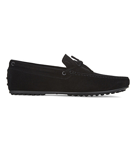 TODS Suede loafers (Black