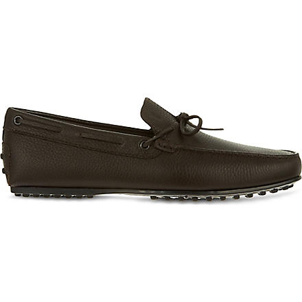TODS Leather Mocasins (Brown