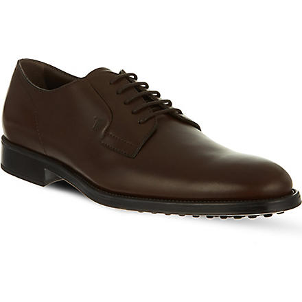TODS Leather Derby shoes (Brown