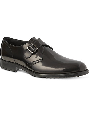 TODS Leather monk-strap shoes