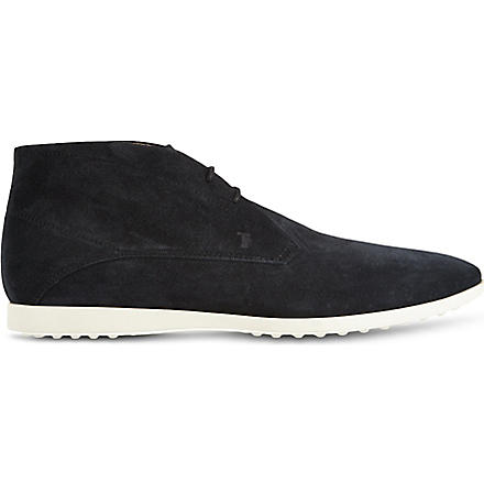TODS Sports chukka boots (Navy