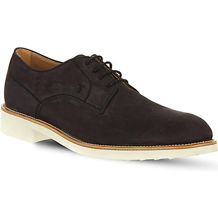 TODS Micro derby shoes (Navy