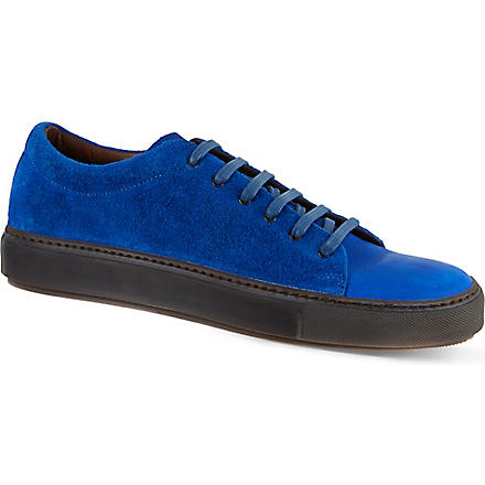 ACNE Suede Adrian trainers (Blue