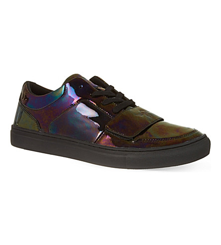 CREATIVE RECREATION Cesario strap trainers (Petrol
