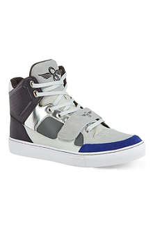 CREATIVE RECREATION Cota multicoloured high top trainers
