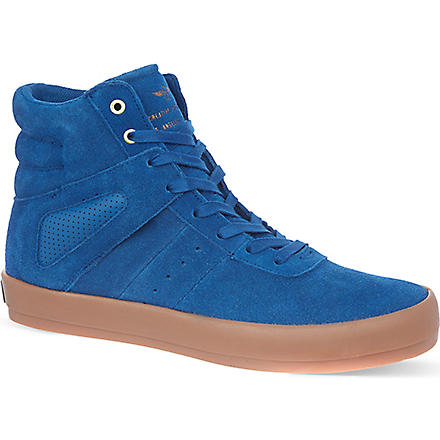 CREATIVE RECREATION Moretti suede high tops (Blue